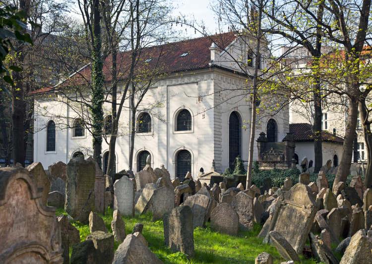 židovský hřbitov a Klausova synagoga
